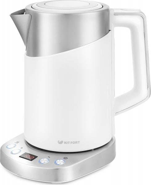Чайник KitFort КТ-660-1 (белый)