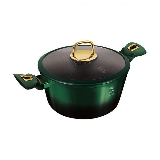 BH-6059 Emerald Collection Metallic Line Кастрюля 28см