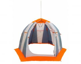 Зимняя палатка Митек Нельма 2 серый/оранж