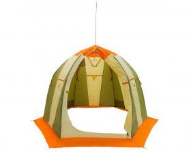 Зимняя палатка Митек Нельма 2 оранжевый/беж