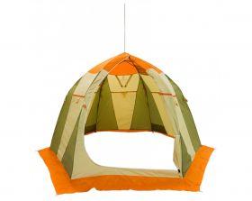 Зимняя палатка Митек Нельма 3 оранжевый/беж