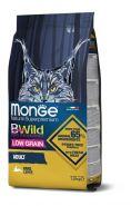 MONGE BWILD CAT HARE КОРМ ДЛЯ ВЗРОСЛЫХ КОШЕК С МЯСОМ ЗАЙЦА 10 КГ