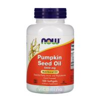 Now Foods Масло из тыквенных семян Pumpkin Seed Oil, 100 капс
