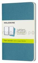 Книжка зап.Moleskine Pocket Cahier нелинованная голубая CH013B44