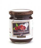 Конфитюр из вишни маркиджана без добавления сахара 230 г, Confettura di visciole senza zucchero, D'Alessandro confetture 230 gr