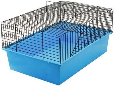 Клетка Дарэлл для грызунов ECO Терри-1 разборная с этажом 37х26х18см