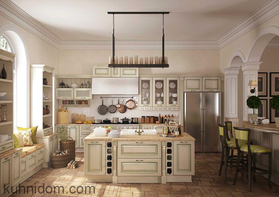 Кухня Искья Зелёная