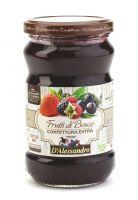 Конфитюр экстра из лесных ягод 360 г, Confettura extra di Frutti di bosco, D'Alessandro confetture 360 gr