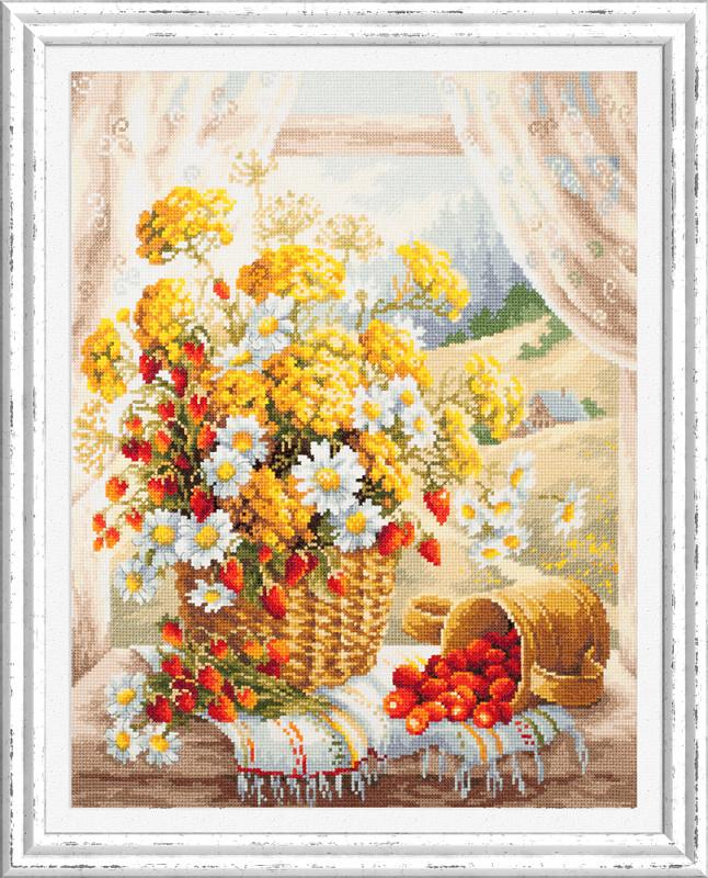 Набор для вышивания ЧУДЕСНАЯ ИГЛА Медовый аромат ( 100-181)