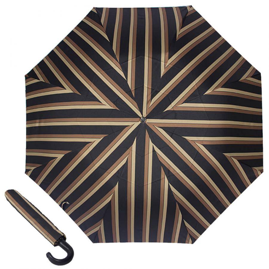Зонт складной Pasotti Auto Classic Pelle Alfred Morrone