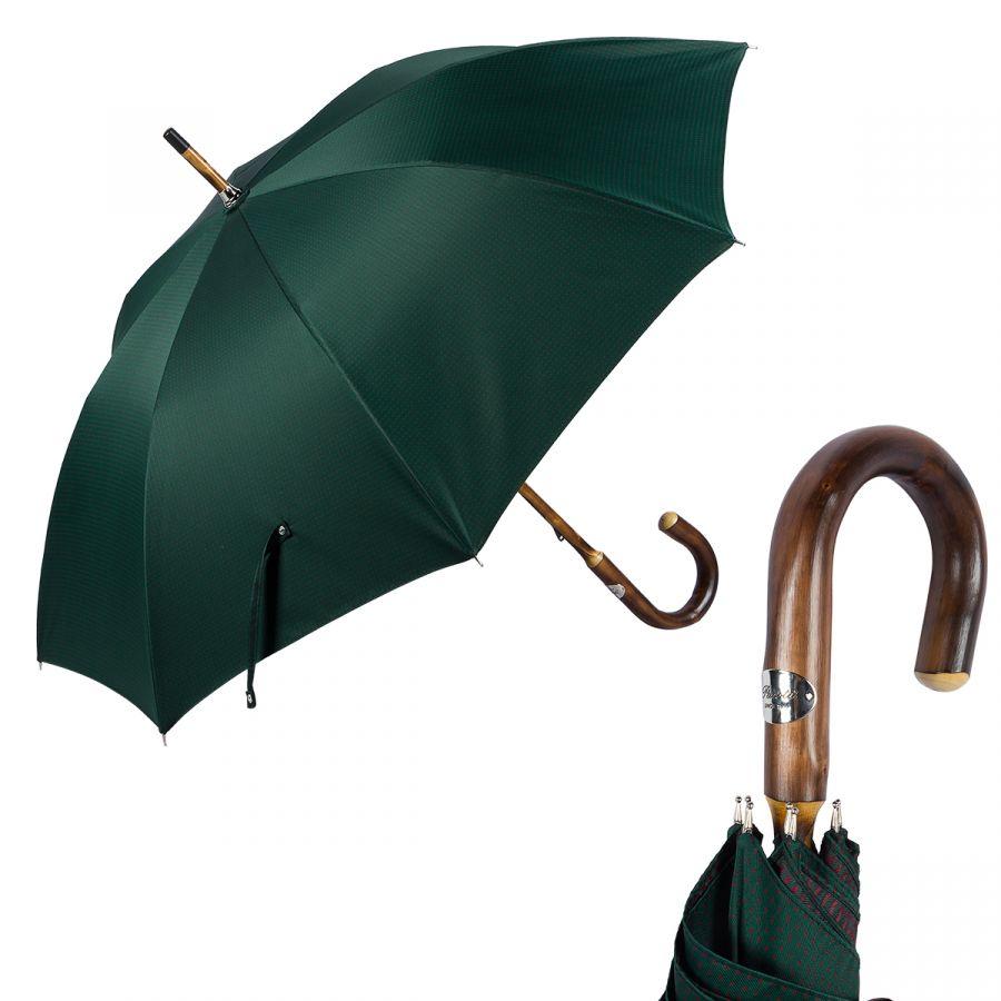 Зонт-трость Pasotti Chestnut Punto Verde