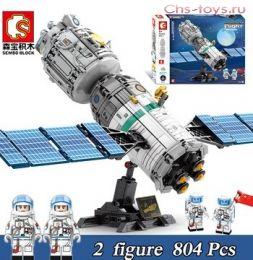 Конструктор SEMBO BLOCK Космическая станция 203302 804 дет