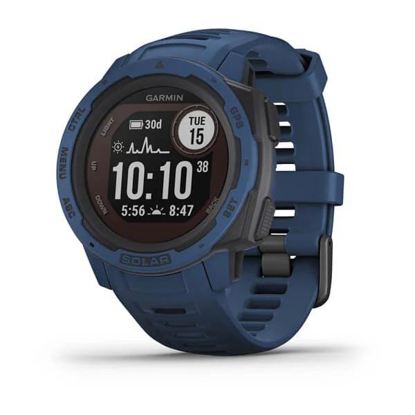 Часы Garmin Instinct Solar Tidal Blue