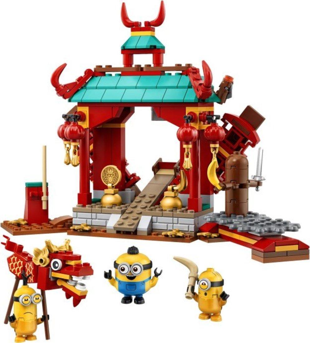 Констр-р LEGO Minions Миньоны: бойцы кунг-фу