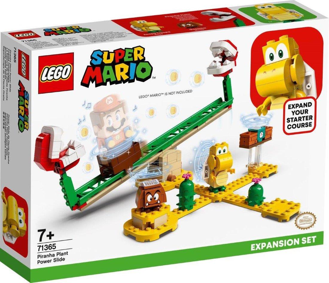 Констр-р LEGO Super Mario Мощная атака Растения-пираньи. Дополнительный набор