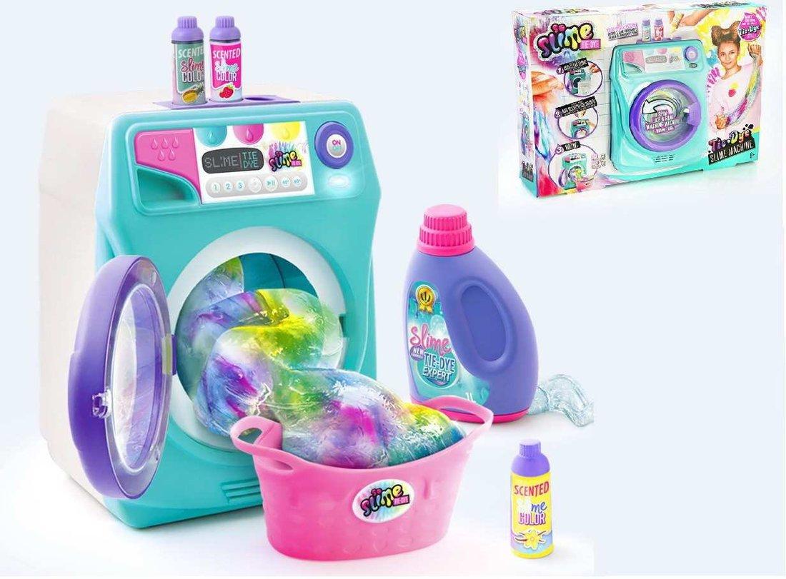 Набор для изготовления многоцветного слайма серии Tie-Dye, Стиральная машинка