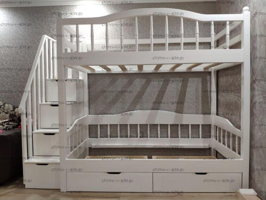 Кровать двухъярусная Лейла №2