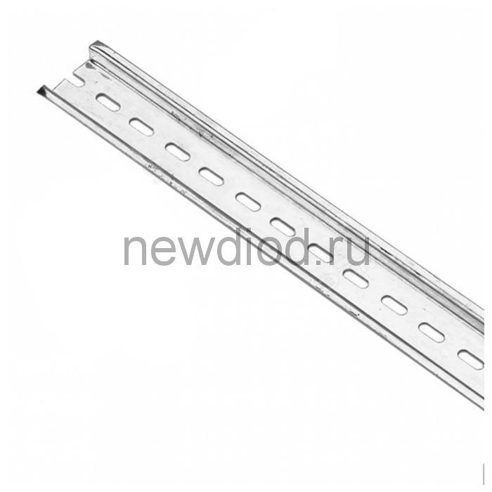 DIN-рейка оцинкованная сталь 30 см ДН-101 DEKraft