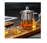 Чайник стеклянный заварочный квадратный 750 мл