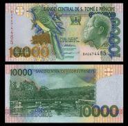 Сан Томе и Принсипи 10000 Добр Добра 1996-2013, ПРЕСС UNC