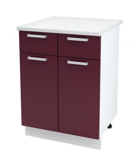 Шкаф нижний с 2 ящиками Дина ШН1Я 600