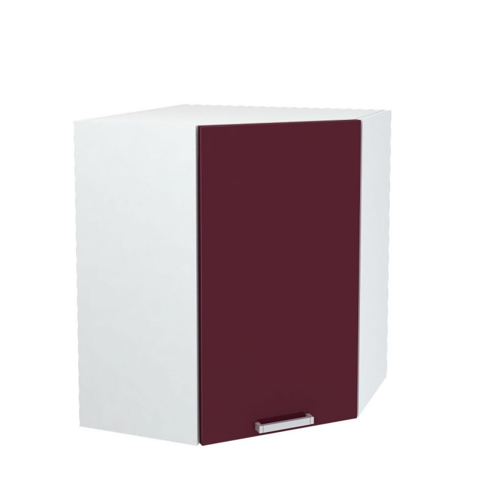 Шкаф верхний угловой Дина ШВУ 600