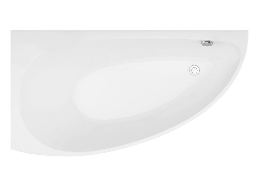 Акриловая ванна Aquanet AUGUSTA 170*90 L