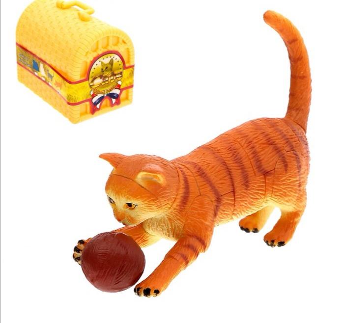 3D пазл «Кошки», 4 вида, МИКС