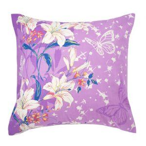 Наволочка Экономь и Я «Цветочный рай», размер 70х70 см, цвет сиреневый, бязь