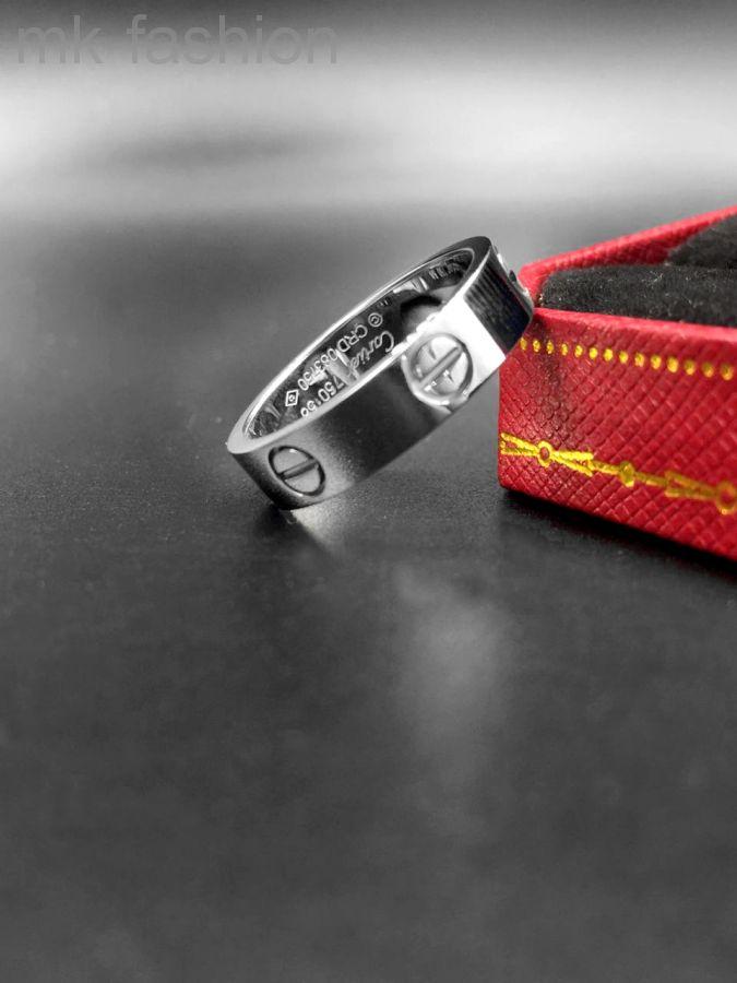 Cartier кольцо Love SILVER