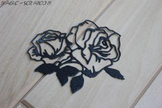 """Вырубка """"Розы"""""""
