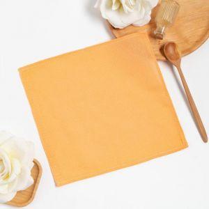 Полотенце вафельное Доляна 30*30± 3 см, цв. салатовый, 100% хлопок, 150 гр/м2 5077401