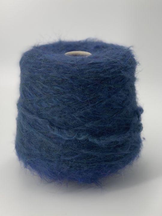 Толстый суперкидмохер Pecci filati Apple цвет синий морской