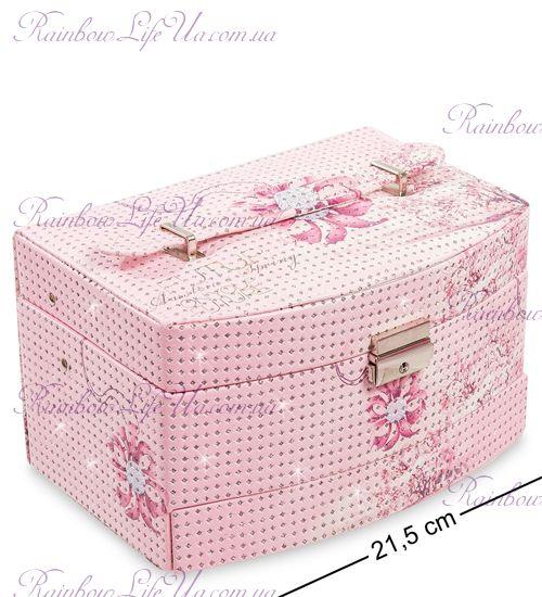 "Шкатулка для бижутерии ""Pink flower"""