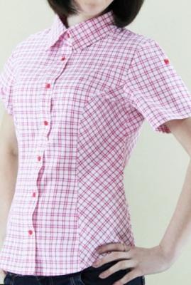 Блуза женская в клетку БЗ-5