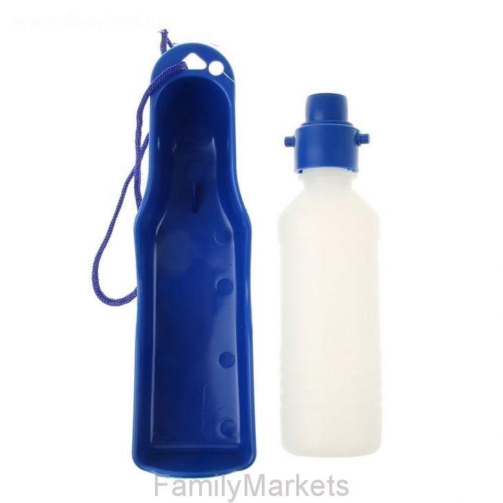 Прогулочная поилка для собак Pet Feeding Bottle, 0,250 мл