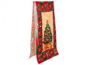 Мешок для упаковки подарков, 90х155х50 мм. ПВХ