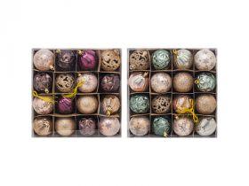 Набор шаров МАРСАЛА, 6 см, 16 шт. в ПВХ коробке, пластик