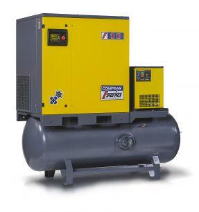 Винтовой компрессор COMPRAG FRD-1510-270 с осушителем