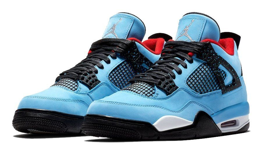 Кроссовки Jordan 4 Retro Travis Scott Cactus Jack