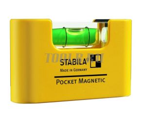 STABILA Pocket Magnetic - Строительный уровень