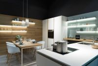 Кухня Fenix NTM 0032 Bianco Kos