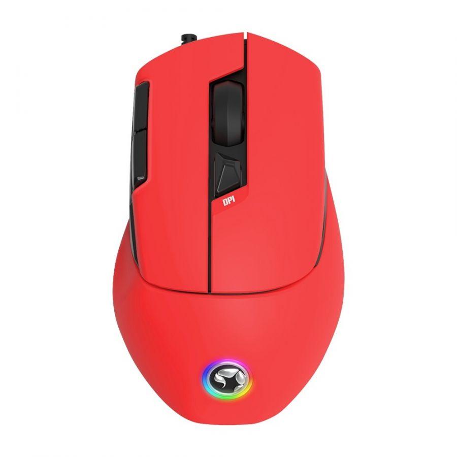 Мышь Marvo M428 RGB-LED Red (M428.RD) USB