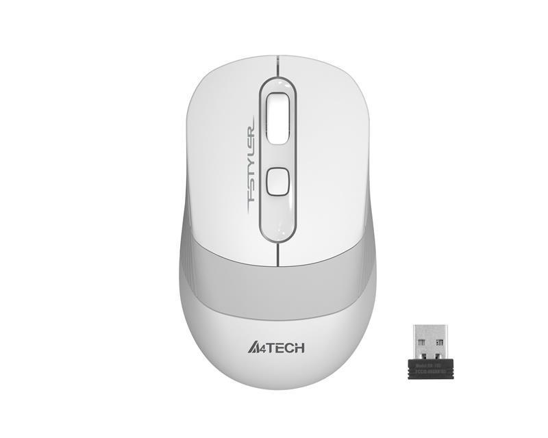 Мышь беспроводная A4Tech FG10S White USB