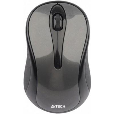 Мышь беспроводная A4Tech G3-280A Grey USB