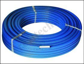 Труба металлопластиковая Henco СТАНДАРТ DN16 x 2,0 PN16 (в бухтах кратно 100 м), белая в син.изол