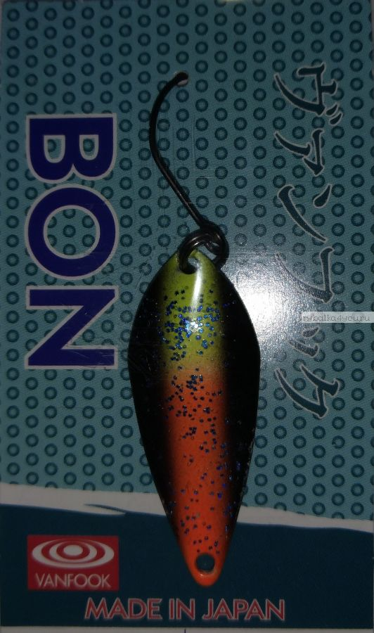 Блесна колеблющаяся Troutland Bon 3,8 гр / цвет:  17