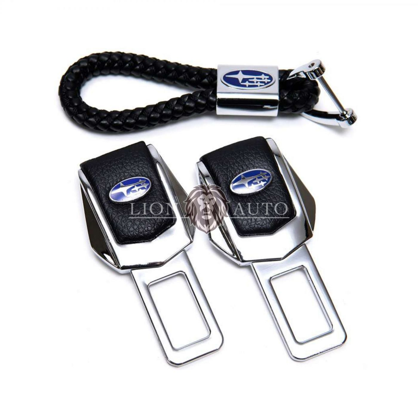 Заглушки ремня безопасности на Subaru (набор)