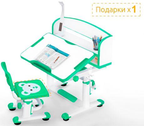 Комплект Mealux BD-10 L: парта + стульчик + лампа