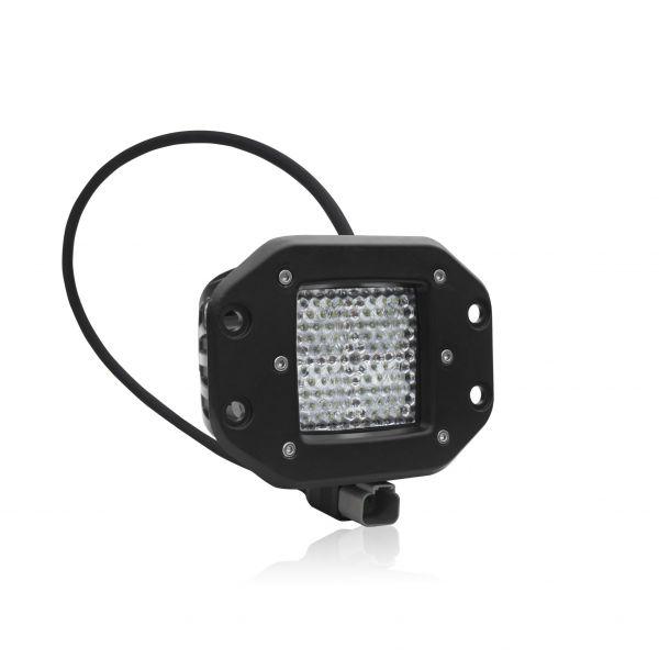 Квадратная врезная светодиодная фара рассеивающего света 40W ALO-EK-2-E4T
